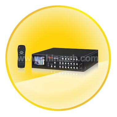 Four Channel Embedded Digital Video Recorder + 2.4inch TFT Screen