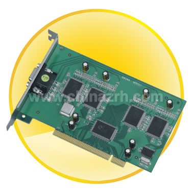 4-CH Real time Video Capture Card with 4-CH Audio