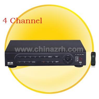 4 Channel H.264 main profile compression algorithm ideal for standalone DVR