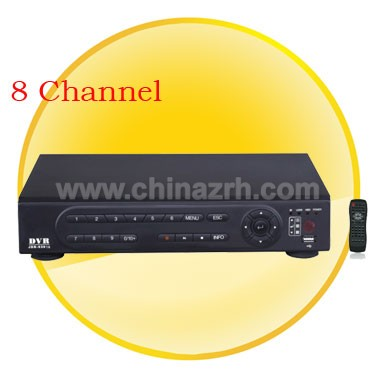 8 Channel H.264 main profile compression algorithm ideal for standalone DVR