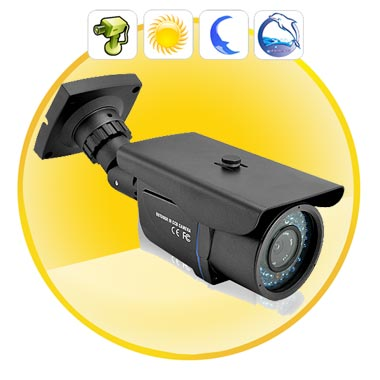 CCTV Video Security Camera (Waterproof + Nightvision)