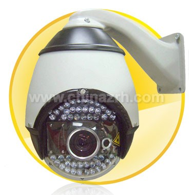 Laser IR Intelligent High-speed Dome Camera + 7 inch Dome