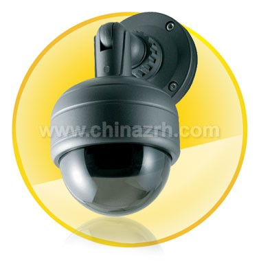 3-Axis Vandal-proof IR Dome Camera + Waterproof + 540TV Lines
