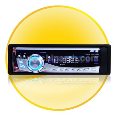 Portable Multimedia Car DVD Player + LCD Color