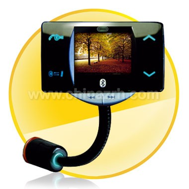 1.5 inch LCD Screen Bluetooth Handsfree Car Kit