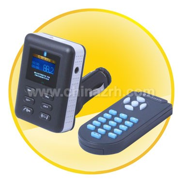 FM Transmitter with Bluetooth Hands-free Function