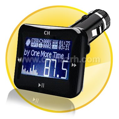 1.4 Inch 2 GB Car mp3 player with FM Transmitter