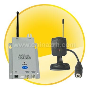 2.4G Wireless camera Kit with Pinhole Lens Spy Camera