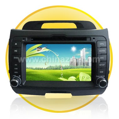 7.0 Inch TFT Screen Special Car DVD Player for KIA-Sportage 2011+ GPS Function + Bluetooth