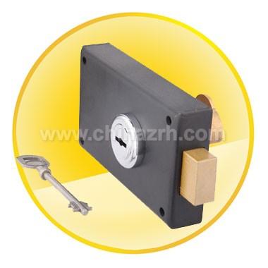 Black Anti-theft lock