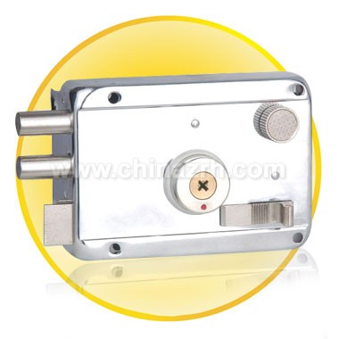 Cross White Chromium Anti-theft lock
