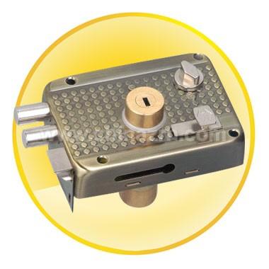 Antique Brass Anti-theft lock