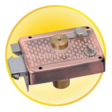 Antique Copper Anti-theft lock