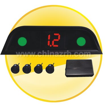Car Parking Sensor with Numeral and Color LED Display + 4 pcs sensors