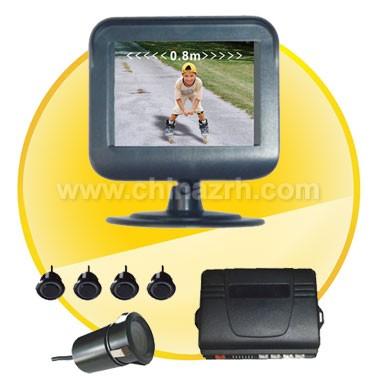 Car Parking Sensor with 2.4 Inch Digital TFT LCD Display + 4pcs Sensors