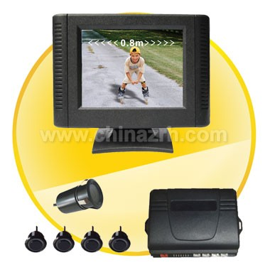 Car Parking Sensor with 2.5 Inch Digital TFT LCD Display + 4pcs Sensor