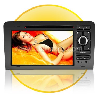 7.0 Inch Digital DVD Player for Audi A3 with Bluetooth + TV + FM + IPOD  + GPS