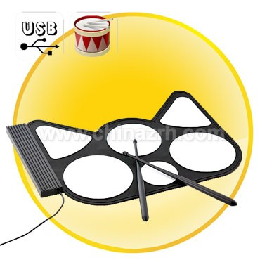 USB Roll-Up Drum Kit