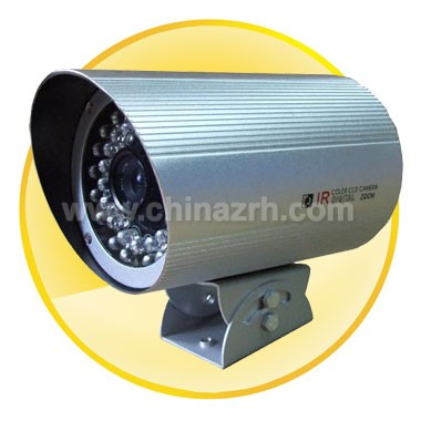 30-50M Waterproof IR Camera with 1/3inch Sony CCD+ 420TV Line + 12mm Fixed Lens