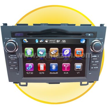 7 Inch High TFT LCD Car DVD Player Special for Honda  CRV with Bluetooth + GPS