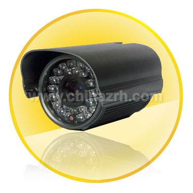50M Waterproof IR Camera with 1/4 inch Sharp CCD+ 420TV Line + 8mm Fixed Lens