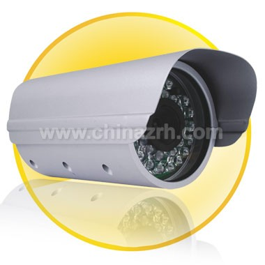 Waterproof IR Surveillance Camera with 1/4 inch Sharp CCD+ 420TV Line + 6mm Fixed Lens