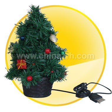 USB Christmas Tree with 10 led light