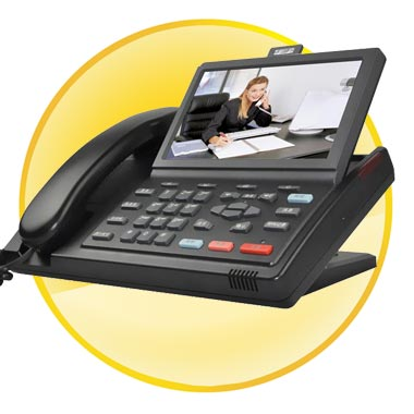 Android OS 2.1 IP Video phone with 7inch Touch Screen+ POE