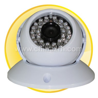 2.5 inch Plastic IR Dome Camera with 1/3inch SONY CCD + 420TVL + 20M IR Distance