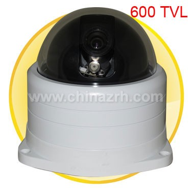 Synchronous Focus Mini Speed Dome Camera with 1/3 inch Sony CCD + 600TVL
