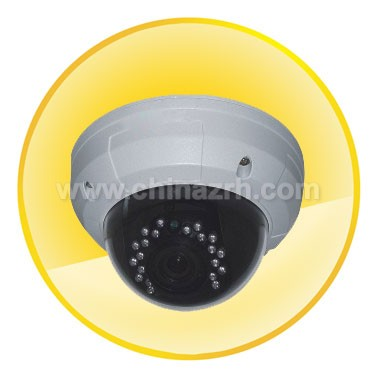 1/3 inch Sony 420 Line CCD Sensor Dome Camera + 20M Night Vision Distance
