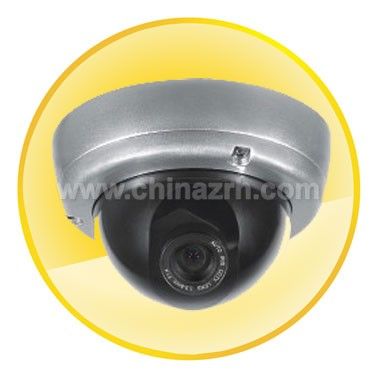 1/3 inch Sony 540 Line CCD Sensor Vandal-proof Dome Camera