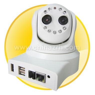 Day/Night 12IR Dome IP Camera with 1/3inch COMS Sensor
