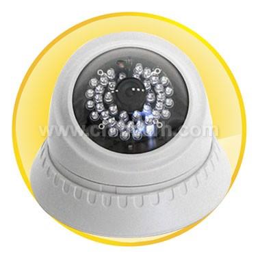 Day/Night 40IR (12M) Dome IP Camera with 1/3inch COMS Sensor