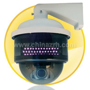50M IR Distance Speed Dome IP Camera with 1/4 SONY SUPER HAD CCD H.264 Compression