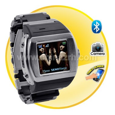 Terminal - 1.5 inch Quad Band Touch Screen Watch Cell Phone
