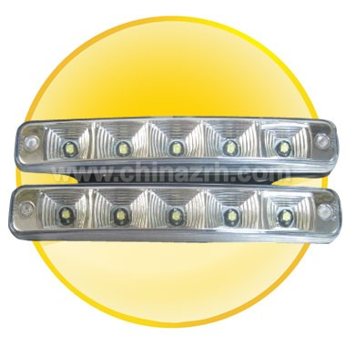 Super Bright 5Pcs LED Daytime Running Lights