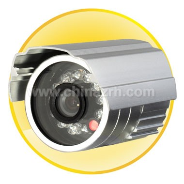 10m IR Waterproof Camera with 1/4Inch Sharp Color CCD + 420TVL