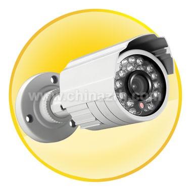 IR Waterproof Camera with 1/3Inch Sony EX-VIEW CCD + 420TVL
