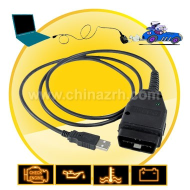 VAG-COM Tacho 2.5 USB to OBD-II Interface Cable