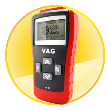 Hand Held VAG Diagnostics Code Scanner with LCD Display
