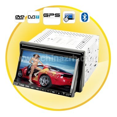 7inch High-Def Touchscreen Car DVD Player with GPS + DVB-T