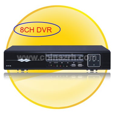 8CH Digital Video Recorder Support 2 SATA Port HDD