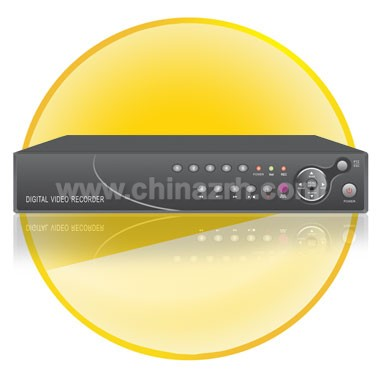 4 Channel Stand-Alone DVR with 1 SATA Hard Disk interface