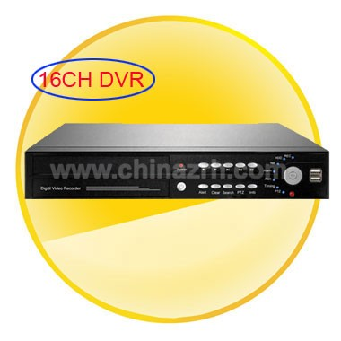 16CH Stand-Alone Digital Video Recorder with H.264 + 16Vedio at the Same Time + USB + Remote Control + Support 3G