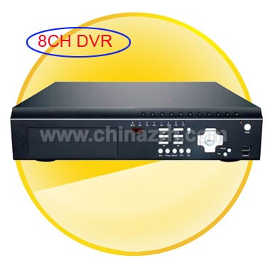 H.264 Compression Stand-Alone DVR with 8Channel + PTZ + 3G Support + Remote Control