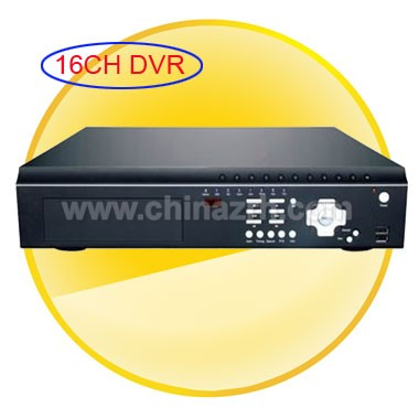 H.264 Compression Stand-Alone DVR with 16Channel + PTZ + 3G Support + Remote Control