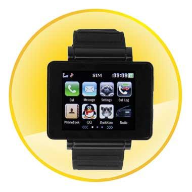 Newest 1.8 Inch TFT Screen Bluetooth Watch Phone