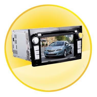 6.2 Inch Car Navigator for Opel Astra/Andhra Pradesh/Favor