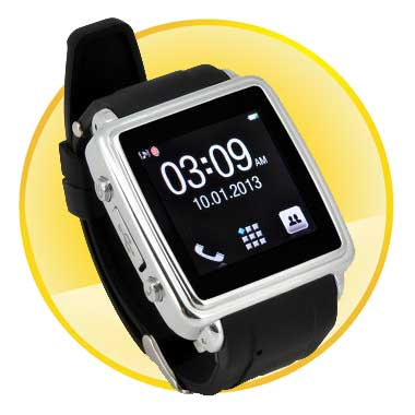 Multi-functional Touch Screen Bluetooth Smartwatch Phone